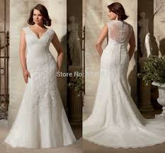 sleeve lace plus size wedding dress stylish scoop neck with beading custom chiffon