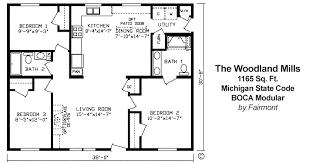 fairmont homes floor plans pine grove housing pine grove homes lot model 5