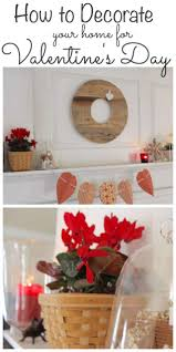 Valentine Home Decorations Valentine Décor U0026 A Valentine Day U0027s Blog Hop Lehman Lane