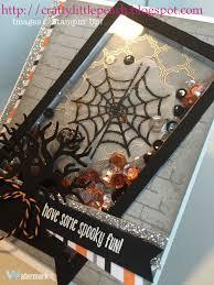 halloween card ideas stampin u0027 up spooky fun halloween shaker card my stampin u0027 up