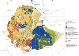 Map Note Geology And Mineral Potential Of Ethiopia A Note On Geology And