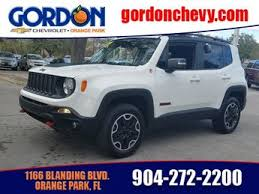 white jeep 4 door used jeep renegade for sale jacksonville fl