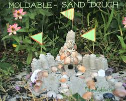 make permanent sandcastles moldable sand dough everyday best