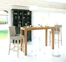 bar dans une cuisine table haute bar but table de bar haute bois lille