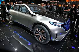mercedes jeep rose gold mercedes benz reveals electric generation eq concept suv
