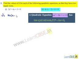 cbse class 10 maths ncert solutions quadratic equations ex 4 4