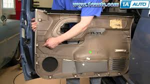 how to install replace door panel chevy gmc pickup truck or suv 95