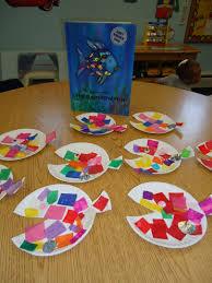 squarehead teachers rainbow fish activities 2 free art craft