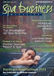 Bella Vita Bad Honnef Spa Business Magazine Feb 2014 By Spa Business Verlag Issuu