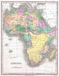 Maps Of Africa by File 1827 Finley Map Of Africa Geographicus Africa Finley 1827