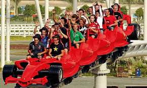 roller coaster abu dhabi speed 16 facts of abu dhabi largest indoor theme park