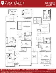 glenwood silver home plan by castlerock communities in siena floor plans