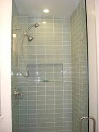 tile ideas for downstairs shower stall for the home morning mist blend 1 2 x 1 2 glass tile tilebar com remodel