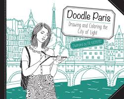 doodle paris drawing and coloring the city of light eve