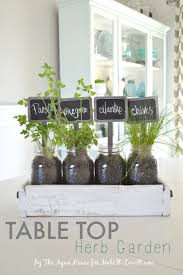 How To Make A Table Out Of Pallets Table Top Herb Garden From An Old Pallet
