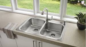 Drop In Stainless Steel Sink Faucet Com 21657 In Spot Resist Stainless By Moen