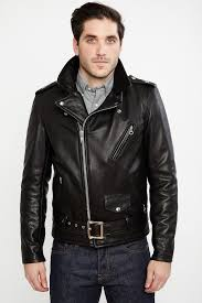 motor leather jacket schott nyc 519 waxy natural black cowhide 50 u0027s perfecto