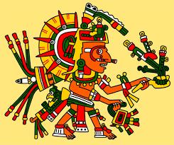 aztec gods a gallery