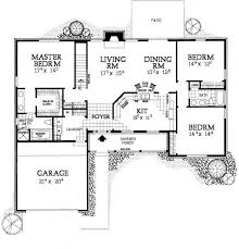 Ranch Floor Plans With Basement by Best 25 One Level Homes Ideas On Pinterest One Level House