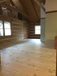 log cabin floors creek log cabin diy wide plank pine floors part 1 installation