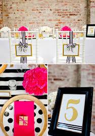 Black Gold Wedding Decorations Modern Black And Gold Wedding Ideas
