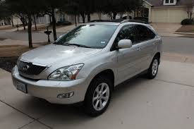 used lexus suv texas 2008 lexus rx 350 awd silver with nav 77k miles only used