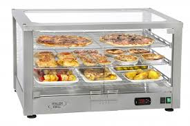 heated food display warmer cabinet case ventilated heated display cabinet with 2 grids wd 780 si catering