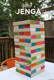 diy giant jenga is the coolest backyard game ever photo huffpost