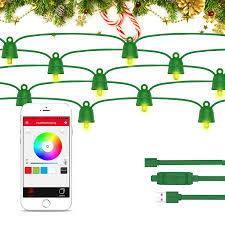 amazon com playbulb 33ft 10m waterproof smart led string lights