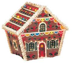 gingerbread house outdoor decoration qvc