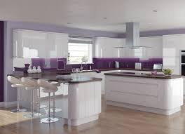 White Gloss Kitchen Ideas Hygena Sanvito White This Stunning Contemporary Kitchen Features
