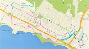 Map A Bike Route by Laguna Beach Local News North South Bike Routes Get Connected