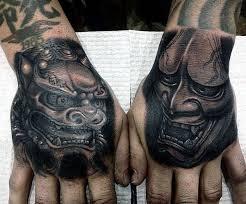 lion foo dog 100 foo dog tattoo designs for men gaurdian lions
