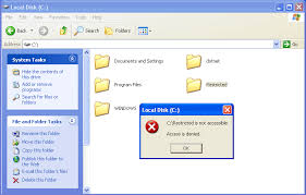 drive not accessible how to fix inaccessible hard drives access is denied error and