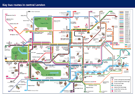 London Metro Map by Visitors And Tourists Transport For London