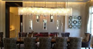 dining room dining table lighting awesome linear chandelier