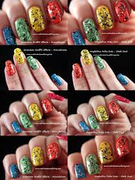 nuthin u0027 but a nail thing seventeen graffiti effects monochrome