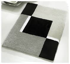 Bathroom Rugs Sets Black And White Bathroom Rugs 10 Modern Bathroom Rug Sets Baths