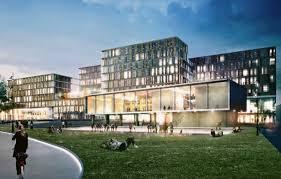 fh frankfurt architektur adickesallee cus frankfurt school und wohnquartier in bau