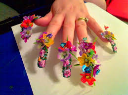 27 marvellous false nails designs u2013 slybury com