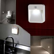 led night light with sensor best bathroom sensor lights led stick up lighting night light safety