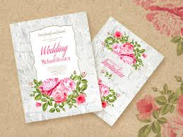 Wedding Announcement Templates 15 Printable Wedding Invitation Templates Cards Samples