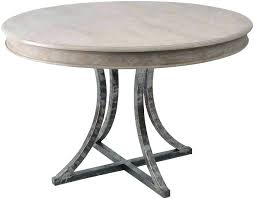 steel top dining table metal top round dining table kitchen design magnificent round