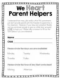 best 25 parent volunteer form ideas on pinterest classroom