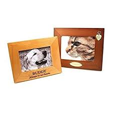 personalized picture frame custom engraved wood