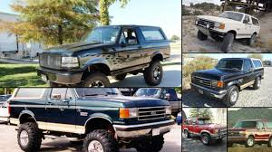 prerunner bronco for sale 1990 ford bronco news reviews msrp ratings with amazing images