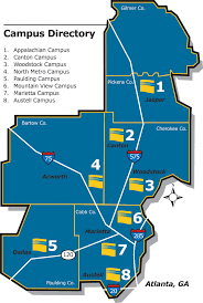 Dallas On Map by Chattahoochee Technical College A Unit Of The Technical College