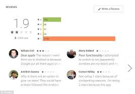 apple to android transfer apple haters flood play with abusive reviews for their move