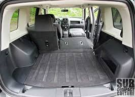 jeep patriot passenger capacity review 2012 jeep patriot latitude 4x4 a compact crossover from