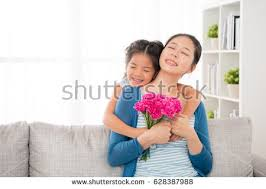 where to buy free hug sofa chinese mother sitting on sofa living stock photo royalty free
